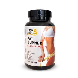 Mix Slim Spalovač tuků Fat burner 120 kapslí